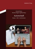 Autorschaft PDF