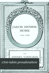 1700-talets prosaforattere