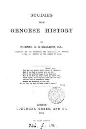 Studies from Genoese History