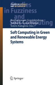 Soft Computing in Green and Renewable Energy Systems