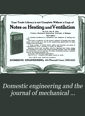 Domestic Engineering and the Journal of Mechanical Contracting: Volume 70