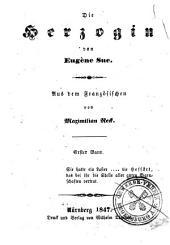 Die sieben Todsünden: ¬Bd.¬1 Hoffart ; Die Herzogin , Bd. 1, Band 1,Ausgabe 1