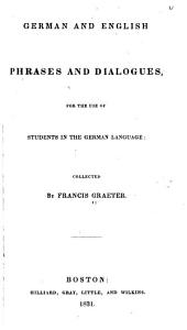 German and English Phrases and Dialogues