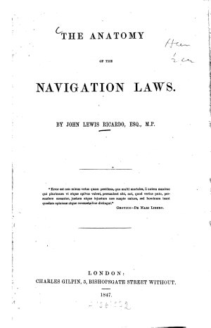 The Anatomy of the Navigation Laws