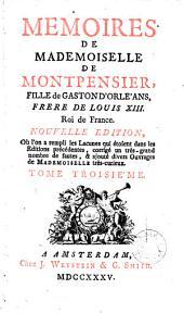 Mémoires de mademoiselle de Montpensier ...