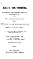 Notitia Eucharistica PDF