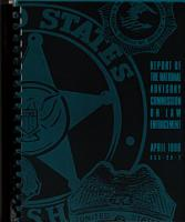 Report Of The National Advisory Commission On Law Enforcement PDF