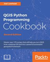 QGIS Python Programming Cookbook PDF
