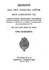 Decretos de la Reina Nuestra Señora Doña Isabel II: Volumen 16