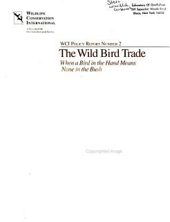 The Wild Bird Trade Book