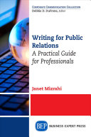 Writing for Public Relations PDF