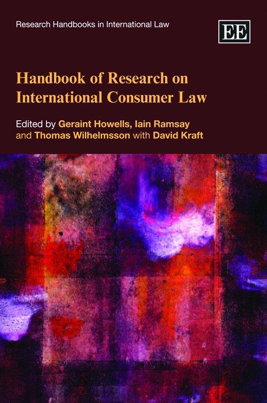 Handbook of Research on International Consumer Law