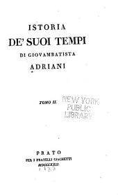 Istoria de' suoi tempi: Volume 2