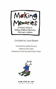 Making Memories Book