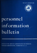 Personnel Information Bulletin. IB5