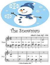 The Snowman - Beginner Tots Piano Sheet Music