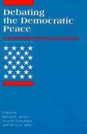 Debating the Democratic Peace