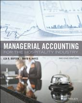 Managerial Accounting for the Hospitality Industry, 2nd Edition: Edition 2