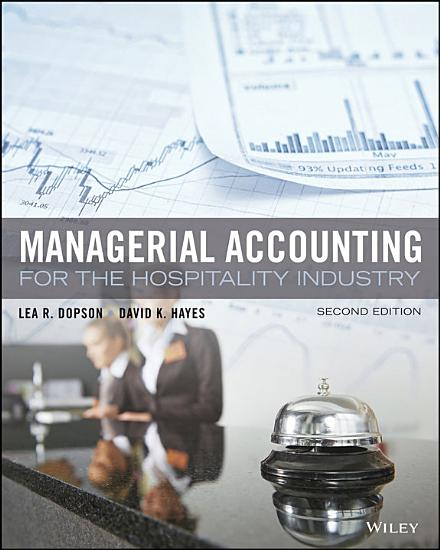 Managerial Accounting for the Hospitality Industry  2nd Edition PDF