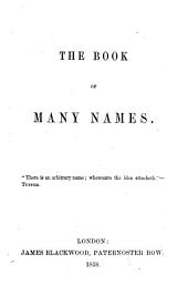 The book of many names