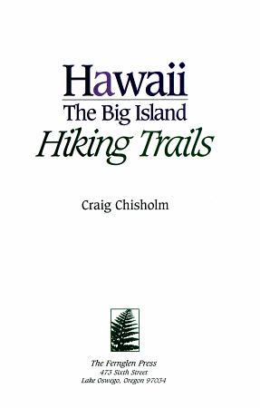Hawaii  the Big Island  Hiking Trails PDF