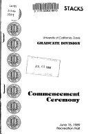 Commencement Ceremony PDF