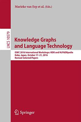Knowledge Graphs and Language Technology PDF