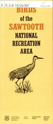 Birds of the Sawtooth National Recreational Area