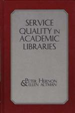 Service Quality in Academic Libraries