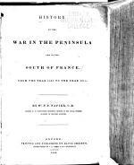 History of the War in the Peninsula