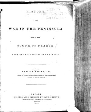 History of the War in the Peninsula PDF