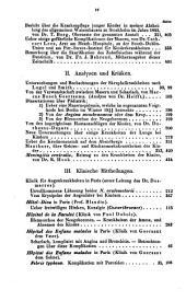 Journal für Kinderkrankheiten: Band 3