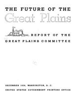 The Future of the Great Plains PDF