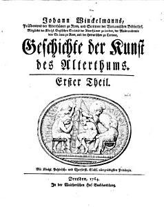 Geschichte der Kunst des Alterthums PDF