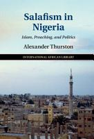 Salafism in Nigeria PDF