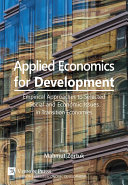 Applied Economics for Development: Empirical Approaches to Selected Social and Economic Issues in Transition Economies