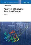 Analysis of Enzyme Reaction Kinetics, 2 Volume Set