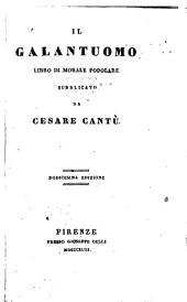 Il galantuomo: libro di morale popolare