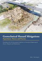 Geotechnical Hazard Mitigations   Experiment  Theory and Practice PDF