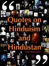Quotes on Hinduism and Hindustan