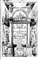 Of the Laws of Ecclesiastical Politie