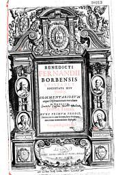Benedicti Fernandii Borbensis Lusitani e societate Iesu theologi, Commentariorum atque obseruationum moralium in Genesim tomus prior [- tertius]. Prodit nunc primum, indicibus cum locorum Sacrae Scripturae, tum rerum memorabilium illustratus