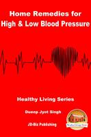 Home Remedies for High   Low Blood Pressure PDF