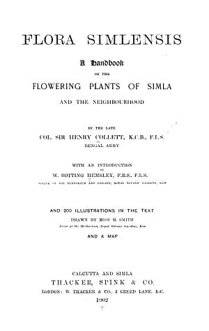 Flora Simlensis