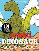 Jumbo Dinosaur Coloring Book