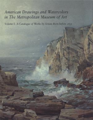 American Drawings and Watercolors in the Metropolitan Museum of Art PDF