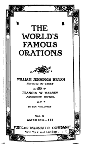 The World's Famous Orations: Volume 10