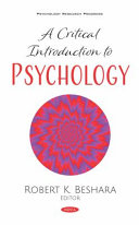 A Critical Introduction to Psychology PDF