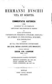 De Hermanni Buschii vita et scriptis