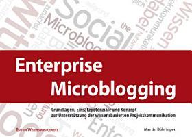 Enterprise Microblogging PDF